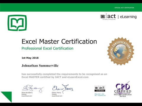 Excel Free Courses Online With Free Certificate | Free excel training | Best online excel courses