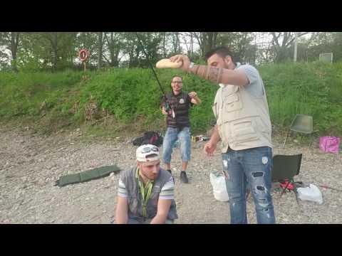 Pesca di laghi di Vuoksa