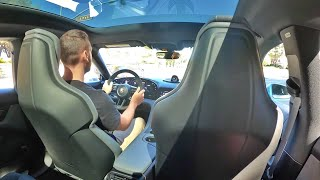 2020 Porsche Taycan 4S Performance Battery Plus POV Ride (3D Audio)(ASMR) by MilesPerHr