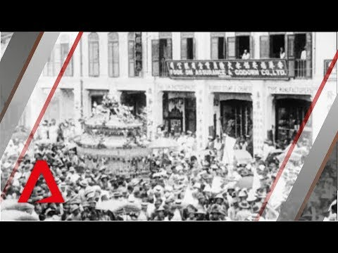 Rare Footage of Singapore from 1900s | Funeral of Lim Ho Puah | Singapore On Film