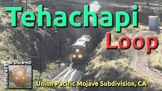 [6t][4k] Tehachapi Loop, Union Pacific Mojave Subdivision, CA 06/26/2019