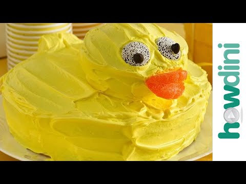 Birthday Cake Ideas: Rubber Ducky Birthday Cake