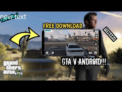 🥇 120MB APK GTA 5 WORKING ALL Android/iOS Device Without Root Grand