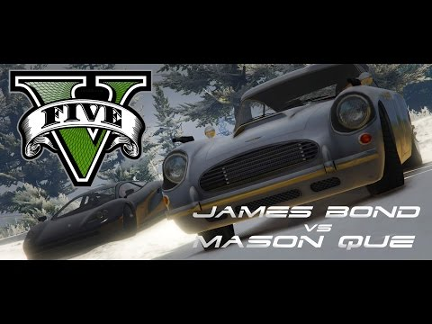 GTA V JAMES BOND - SPY BATTLE EP 3