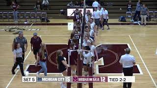 Michigan City vs Mishawaka Volleyball Sectional