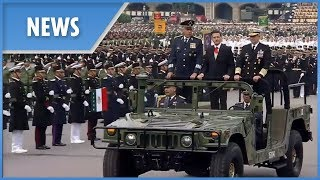 Mexico Independence Day: military parade