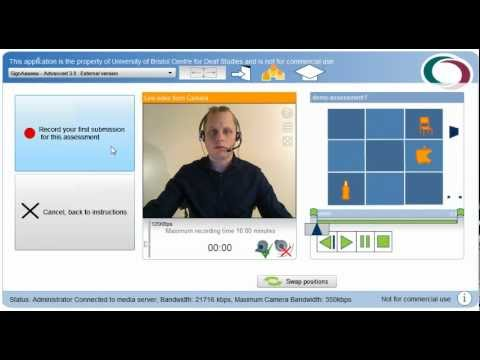 SignAssess - E-learning software for online sign language training ...