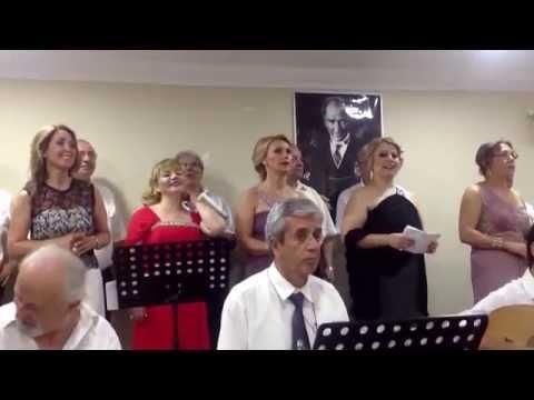 Kırmızı Gülün Alı Var - Vedat Özbaş - Kartal Musiki Derneği - Balkanlılar Derneği Konseri