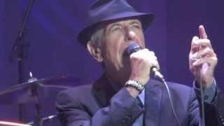 Leonard Cohen, Save The Last Dance For Me , Dublin 12-09-2013
