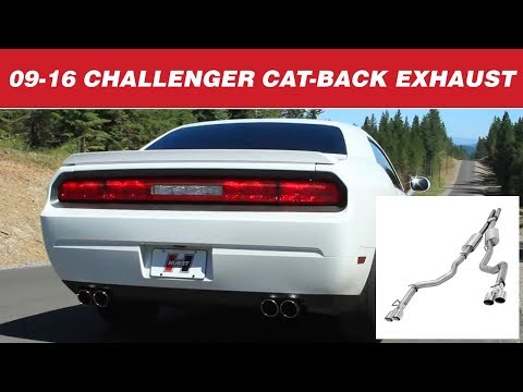 2009-16 Challenger R/T 5.7L - Hurst Elite Series Cat-back Exhaust Systems