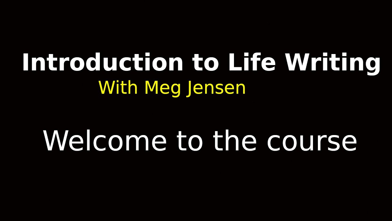 Introduction to Life Writing