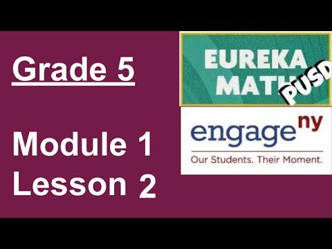EngageNY Grade 5 Module 1 Lesson 1 - смотреть онлайн на Hah Life