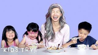 Kids Try Their Moms Family Recipes   Kids Try   HiHo Kids