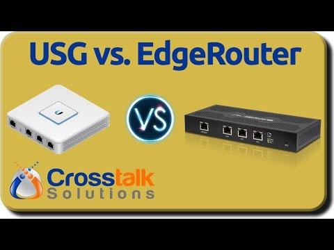 USG vs. EdgeRouter
