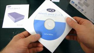 LaCie HDD Network Space 2 by Neil Poulton Nas Unboxing & First Look Linus Tech Tips