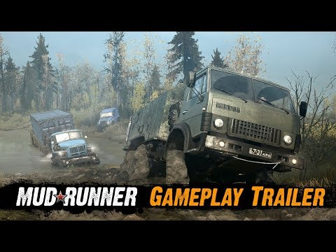 Spintires: MudRunner - Gameplay Trailer thumbnail