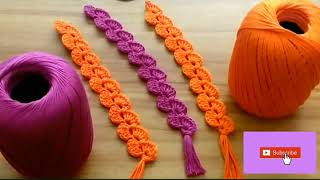 Tutorial on How to Make a Simple and Beautiful Crochet Bookmark