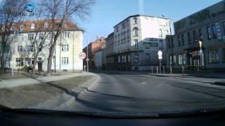 preview picture of video 'Trasa egzaminacyjna WORD Słupsk PRAWO JAZDY: Zawracanie z ulicy Tuwima w ulicę Deotymy'