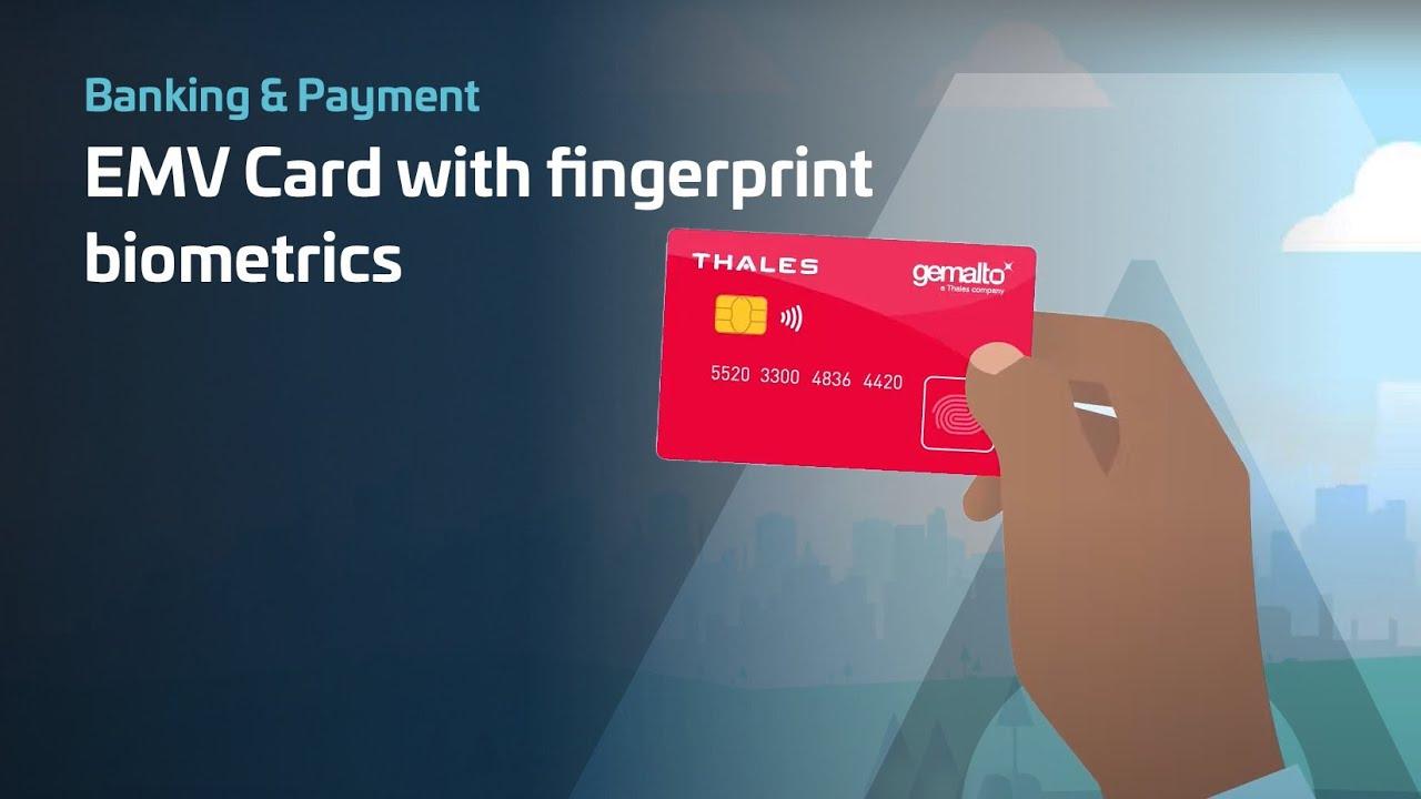 Ya son real: así funcionan las tarjetas de crédito con sensor de huellas