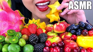 ASMR COLORFUL FRUIT PLATTER PART 2 | ASMR Phan