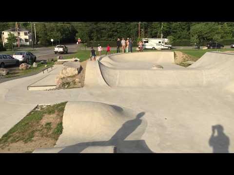 Bar Harbor Maine Skatepark Tour