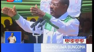 NASA wamekuwa Bungoma : Vinara wahudhuria mazishi ya Austin Wamunyinyi