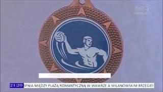 TVP Warszawa — Wiadomości Sportowe — 31/05/2018 — Legia Warszawa Waterpolo