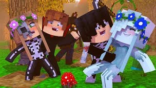GOING TO THE HALLOWEEN BALL! w/Little Carly (Minecraft Roleplay).