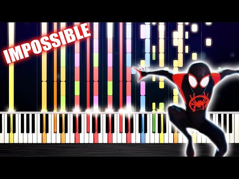 Post Malone, Swae Lee - Sunflower - IMPOSSIBLE PIANO by PlutaX