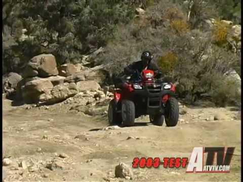 ATV Television - 2003 Suzuki Vinson 500 4x4 Test