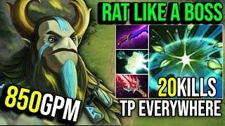 HOW TO RAT LIKE A BOSS [Nature's Prophet] Vs TrashTalk Fans By Ana 7.19c   Dota 2 FullGame