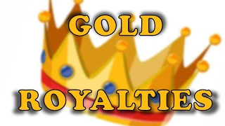 GOLD - USD - Royalties do ouro
