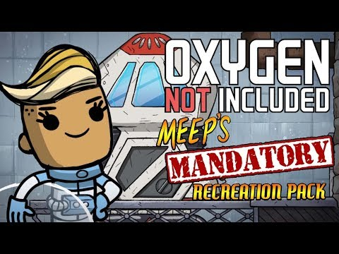 Launching Our Rocket! - Oxygen Not Included Gameplay - Meep's Mandatory Recreation Pack