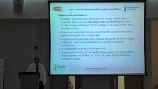CSEF Industry Day – Savvas Tassou, CSEF