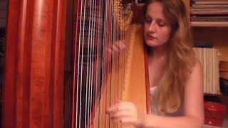 The Cranberries - Zombie (Harp Cover)