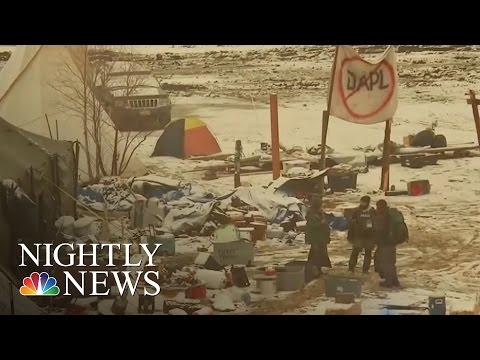 Arrests At Standing Rock As Protesters' Eviction Deadline Passes | NBC Nightly News