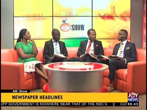 """""""197 Out Of 204 Electrical Items Substandard"""" - AM Show Headlines on JoyNews (4-9-18)"""
