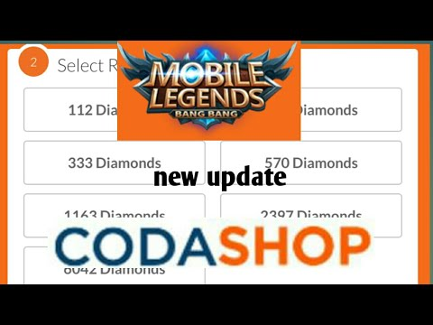 NEW UPDATE FOR CODASHOP // PANO MAKA RECHARGE // MOBILE LEGENDS