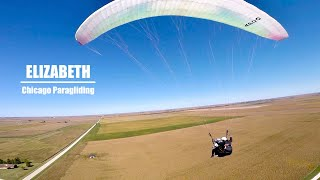 Tandem with Elizabeth | Chicago Paragliding