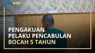 Pelaku Pencabulan Terhadap Bocah yang Video Pengakuannya Viral Mengatakan Tak Iming-imingi Korban