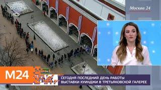 У Третьяковки собиралась очередь на выставку Архипа Куинджи - Москва 24