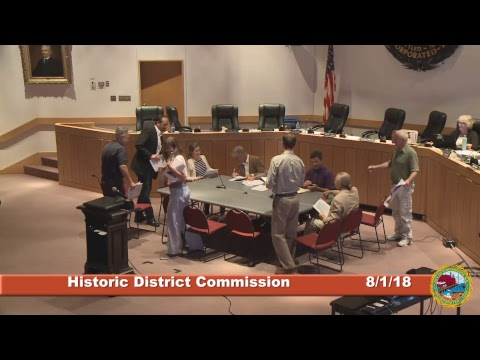 Historic District Commission 8.1.18