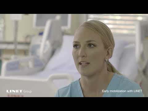 "Early Mobilization with LINET"" – interview with Zdenka, ICU registered nurse"