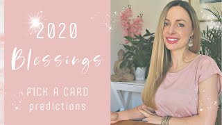 LIFE 2020 - Blessings 2020 What are you manifesting? Pick a Card Tarot