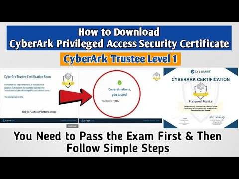 How to Download CyberArk Privileged Access Security Trustee ...