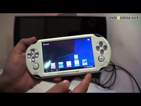 Consola portatil de videjuegos Android