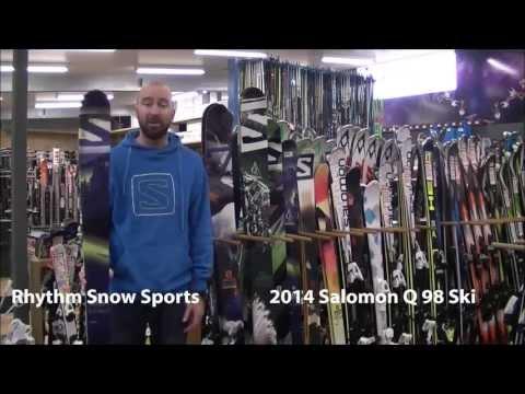 2014 Salomon Q 98 Ski Review
