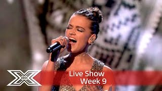 Emily sparkles with John Lennon's Happy Christmas (War is Over) | Semi-Final | The X Factor UK 2016
