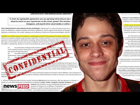 Pete Davidson Is Forcing Fans To Sign A Million Dollar NDA Before He Performs!