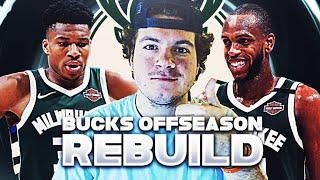 ADDING ANOTHER SUPERSTAR!? MILWAUKEE BUCKS OFFSEASON REBUILD! (NBA 2K21)